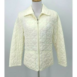 Esprit Blanket Puffer Jacket Long Sleeve Quilted